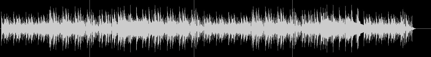 レトロなリラックスミュージックの未再生の波形