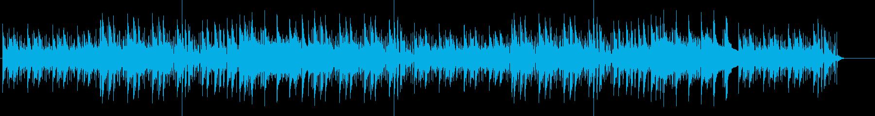 レトロなリラックスミュージックの再生済みの波形