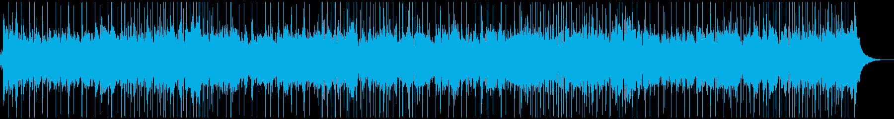 リラックスできるフォークバラードの再生済みの波形