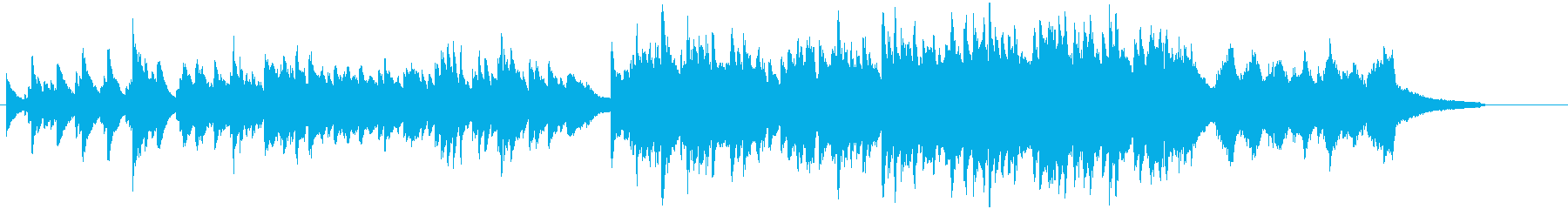 A song with the image of a soft road's reproduced waveform