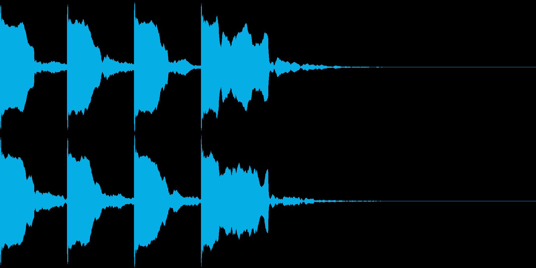 レーススタート合図7 カウントダウンの再生済みの波形