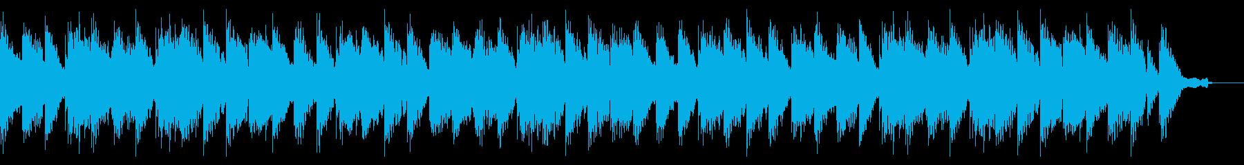 エンディング感のある切ないメロディーの曲の再生済みの波形