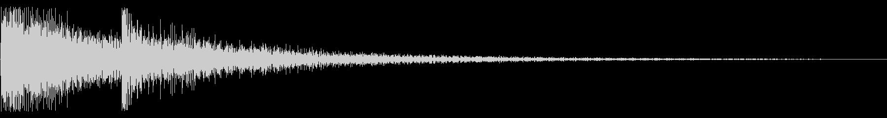 ピコン テレン ピロン 上昇 トイピアノの未再生の波形