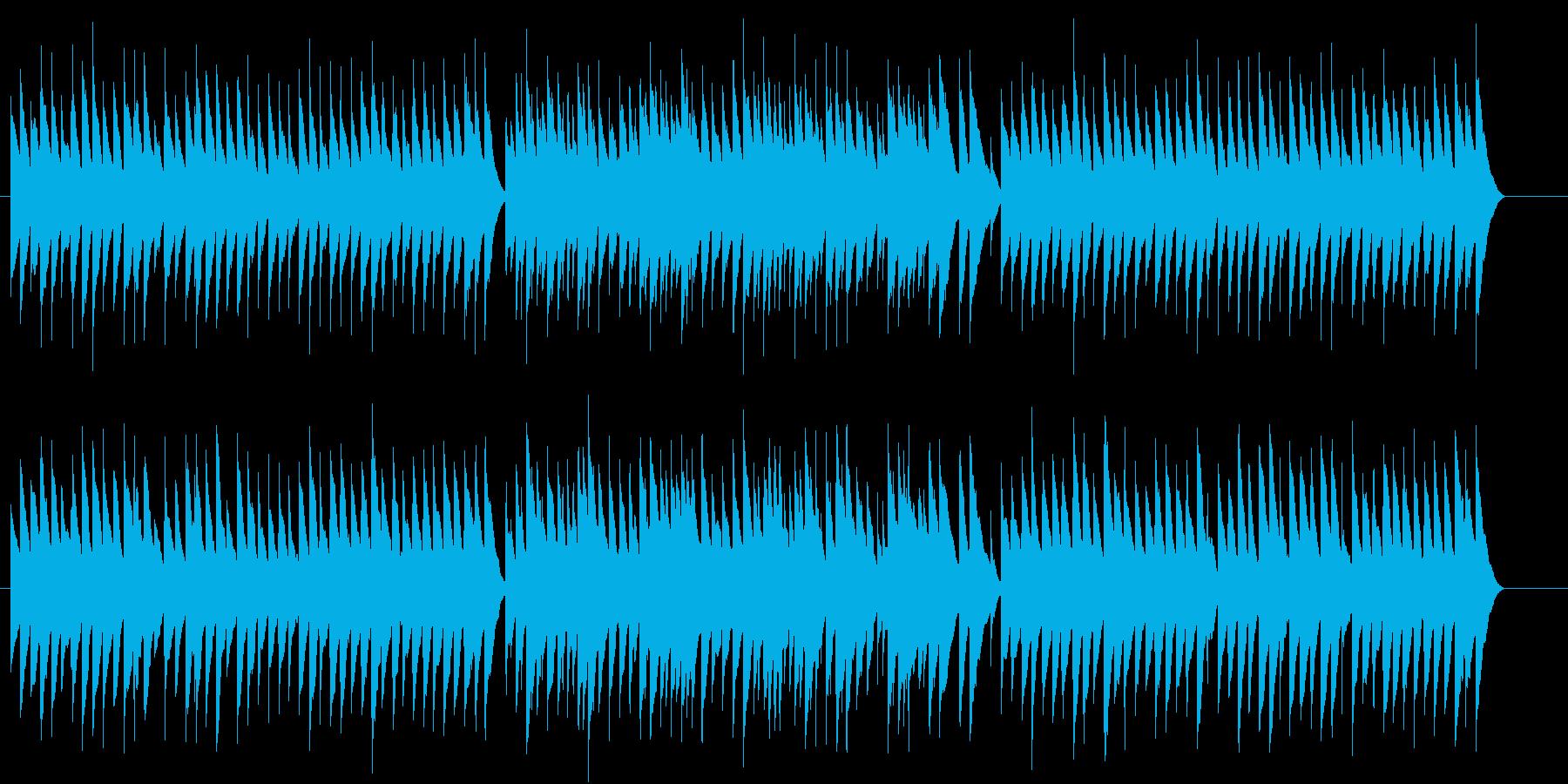 とても切ないマイナー調のオルゴールの再生済みの波形