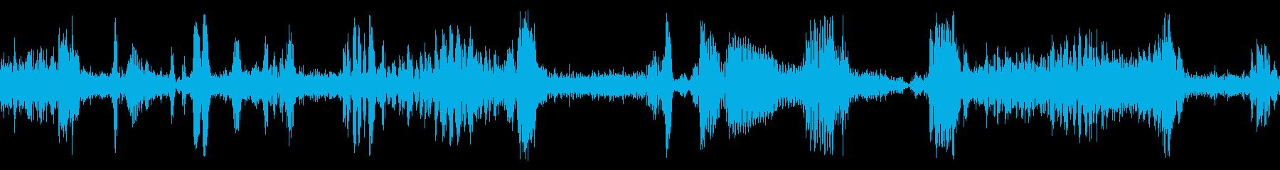 TUBE RADIO:TUNING...の再生済みの波形
