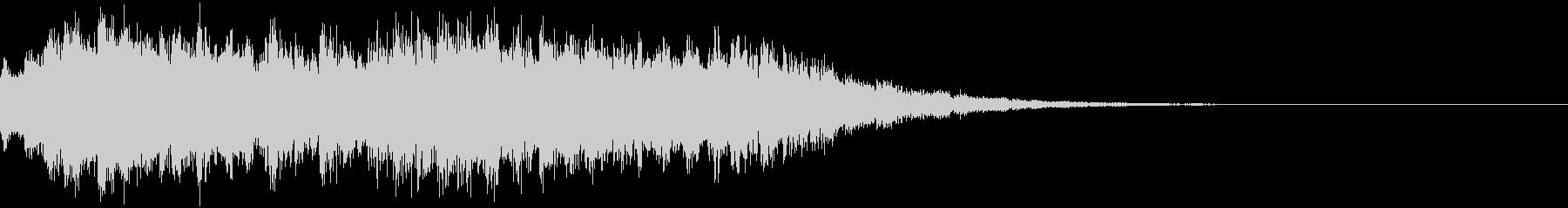 透明感のあるEDMジングル5の未再生の波形