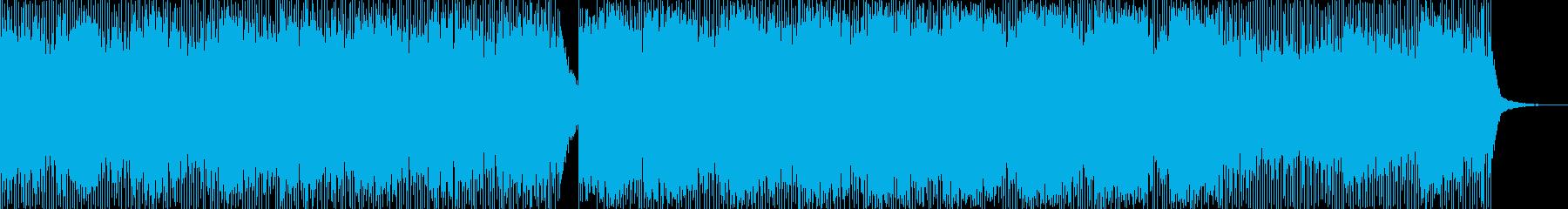 こだまするピアノの再生済みの波形