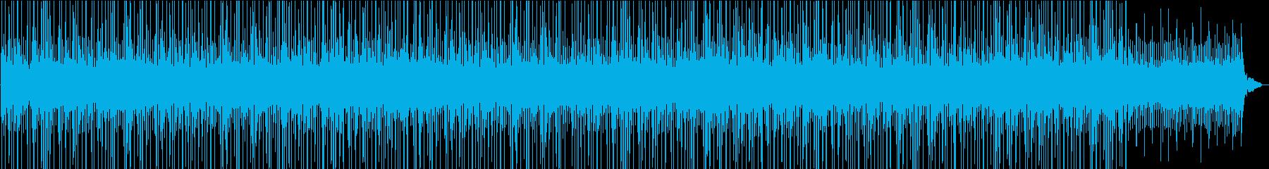 For heartwarming CM, chill lo-fi's reproduced waveform