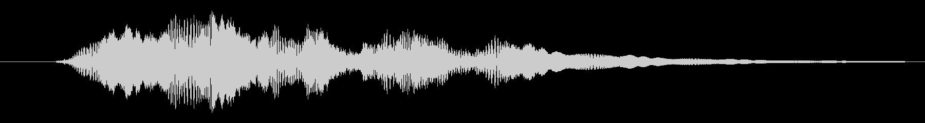 プルプル(スライム・ゼリー)3の未再生の波形