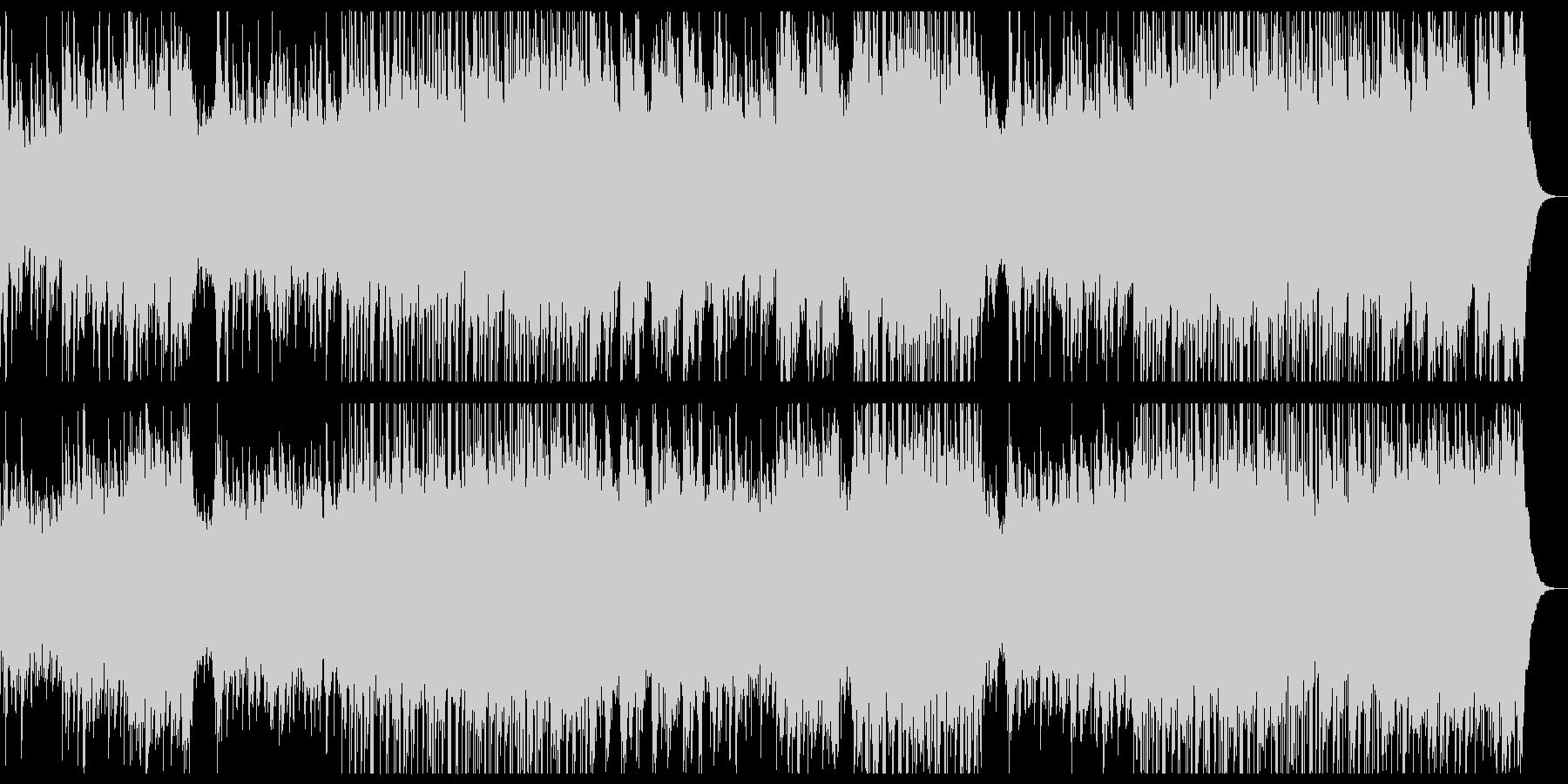爽やかな感傷のピアノチルアウトポップ。の未再生の波形
