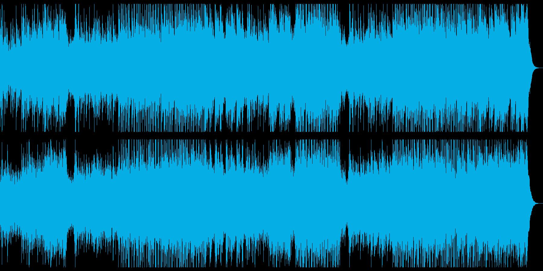 爽やかな感傷のピアノチルアウトポップ。の再生済みの波形