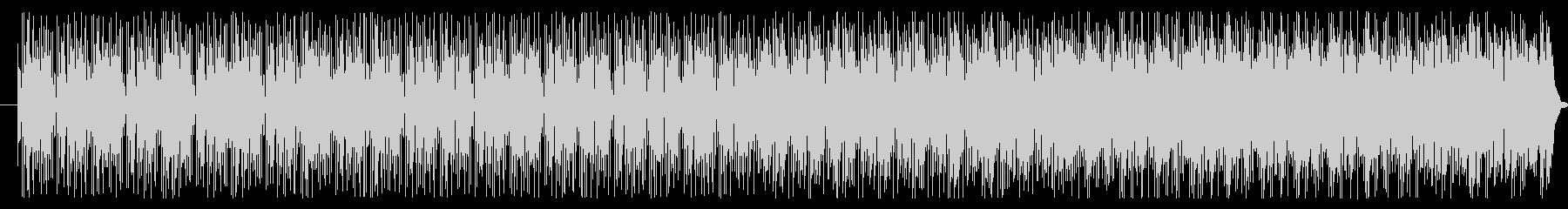 陽気な太鼓が効いたラテンジャズの未再生の波形