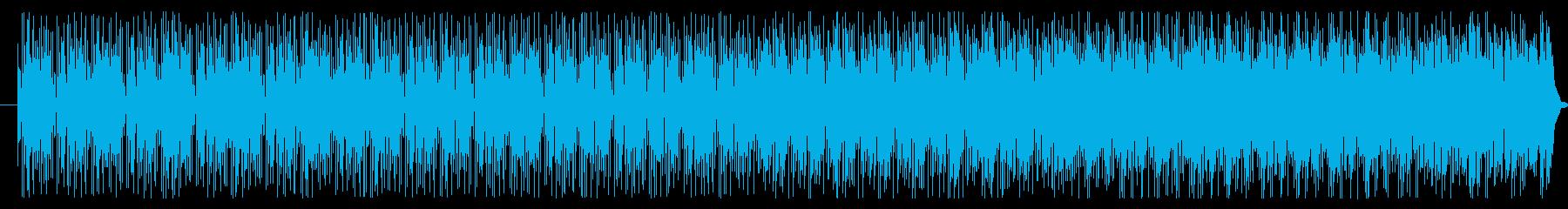 陽気な太鼓が効いたラテンジャズの再生済みの波形