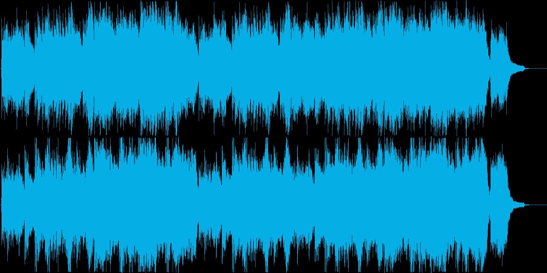 ドキュメンタリー旅紀行風(ドラムなし)の再生済みの波形