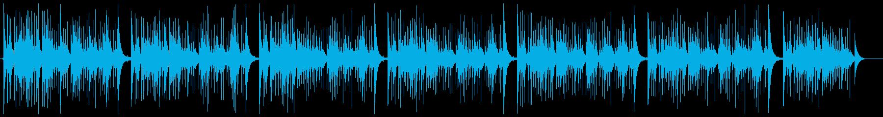 【生録音】オルゴール-カノン-01の再生済みの波形