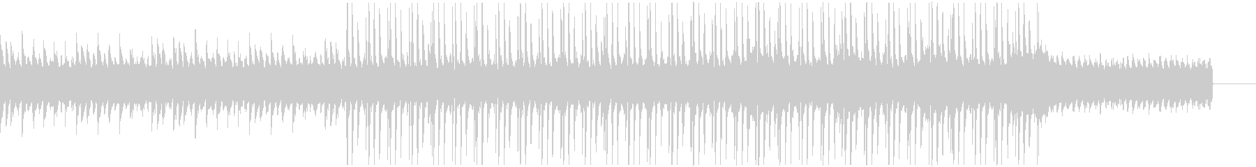 Lo-Fi Pianoの未再生の波形