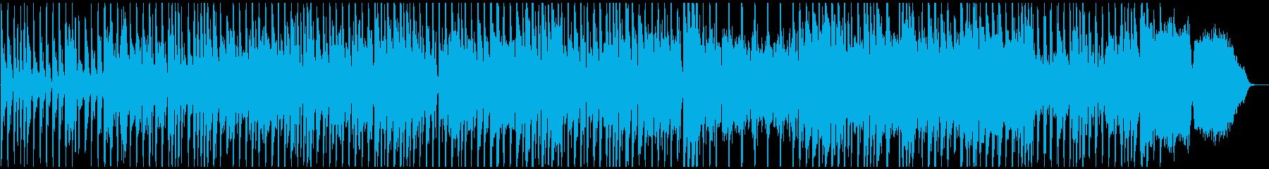 ワンパクマーチの再生済みの波形