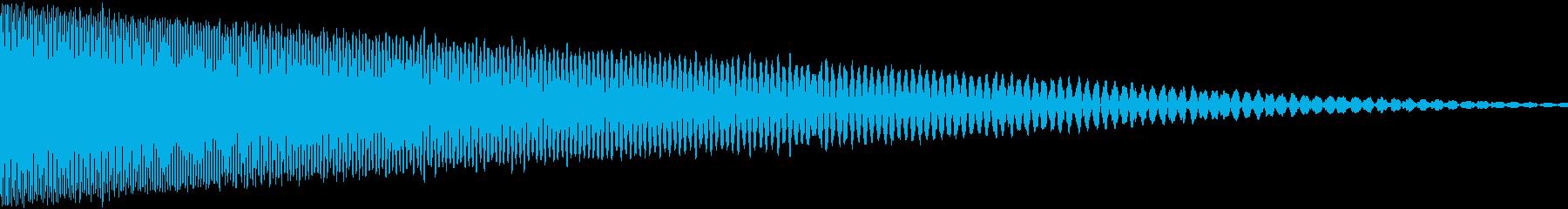 弾を撃つ(ショット) ピュウの再生済みの波形
