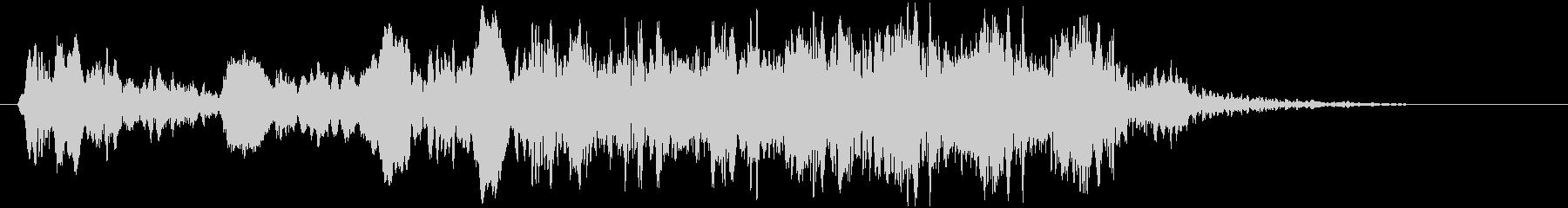 トンビ(トビ、鳶)ヒッヒョロロロロの未再生の波形