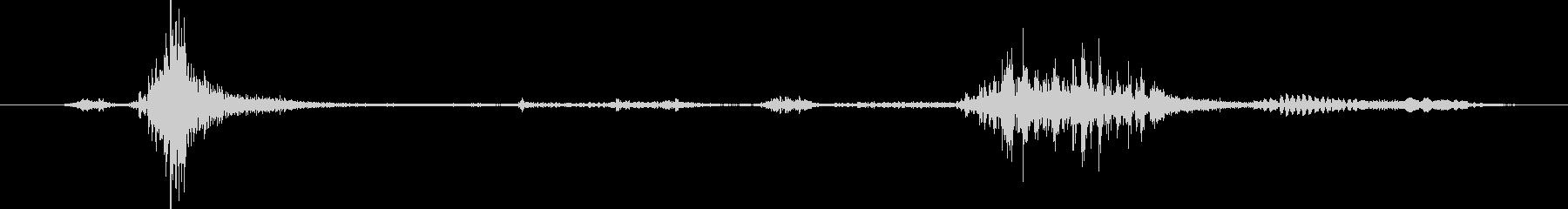 ミニチュアシュナウザー:シングルバ...の未再生の波形