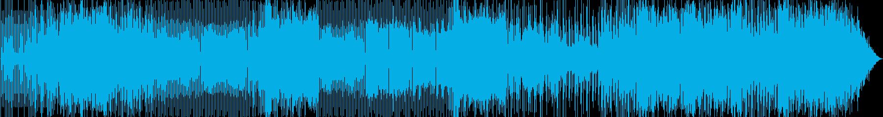 ゲームに似合うミニマムなインストの再生済みの波形