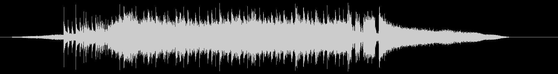 ロック系ショートBGM、チャンネル登録等の未再生の波形