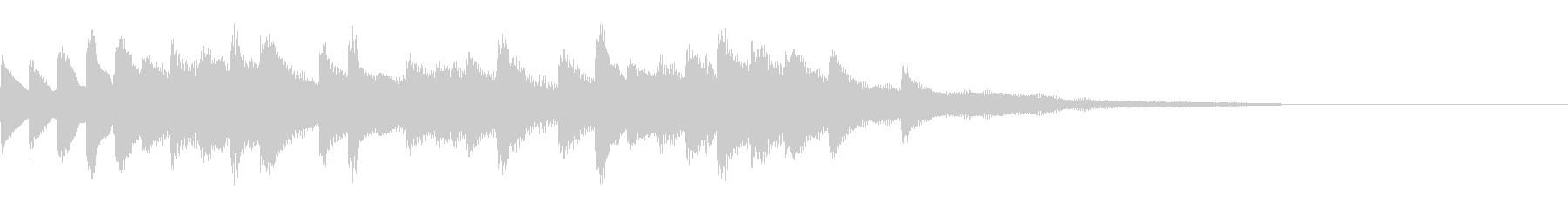 ピアノ・ポップ・流れるような・切ないの未再生の波形