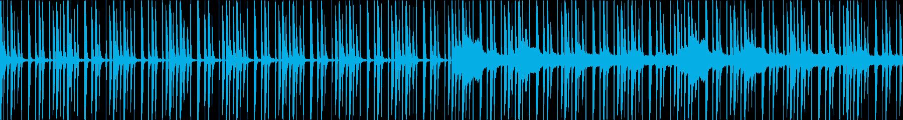 森・ゲーム・ループ・不思議・切ないの再生済みの波形