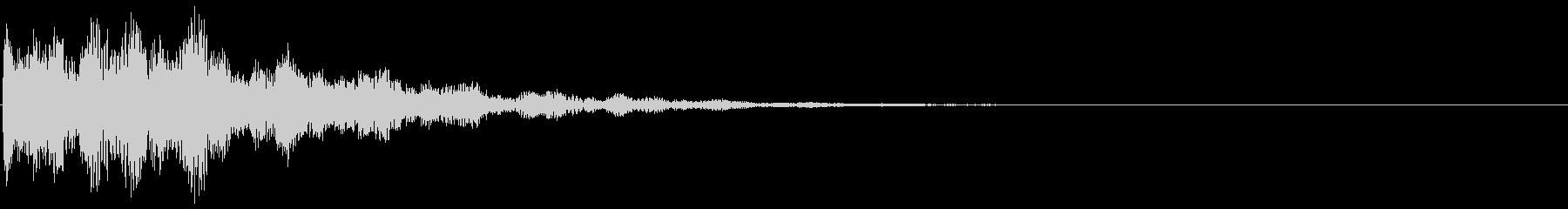 ブリュリュ(ダメージ・チャージ・ミス)の未再生の波形