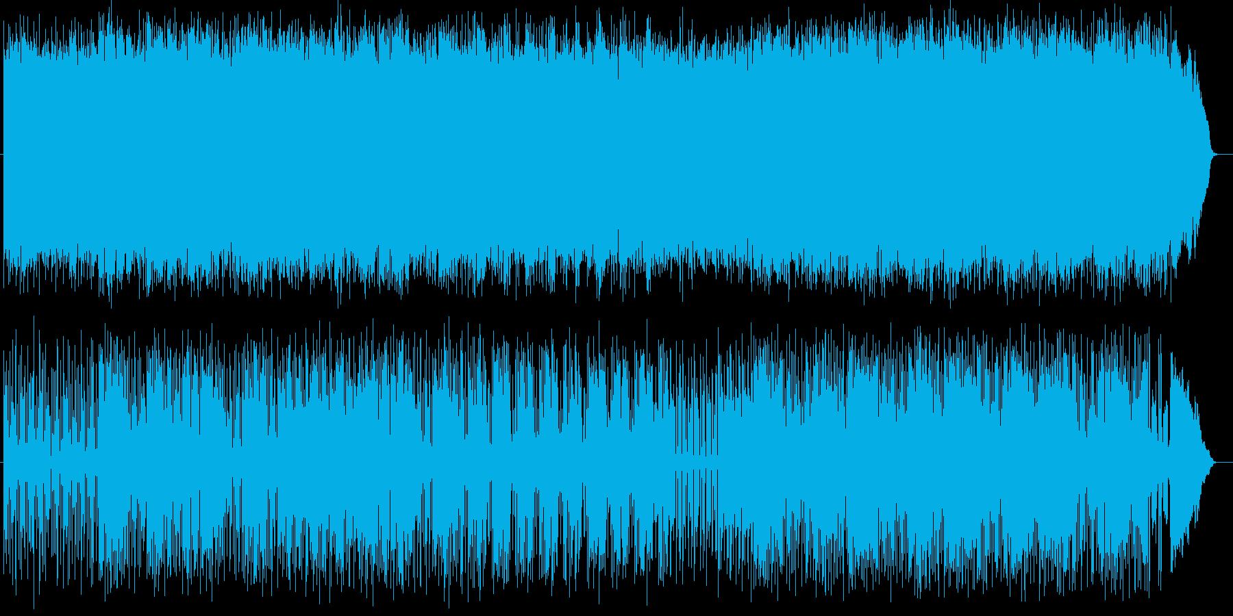 クールな疾走感のあるロックの再生済みの波形