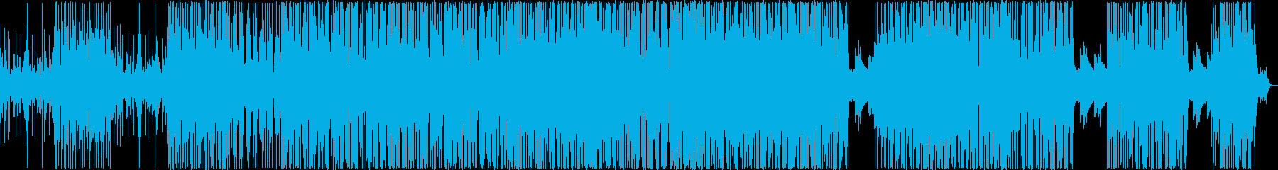熱い感じですの再生済みの波形