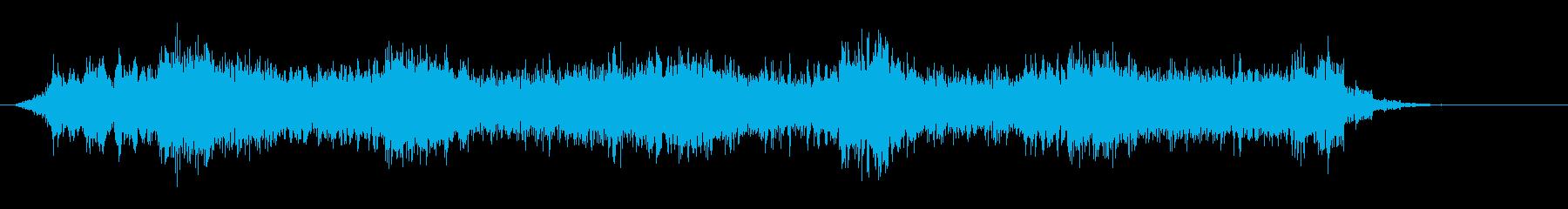 4 不吉、禍禍しい、忌まわしい、系の音の再生済みの波形