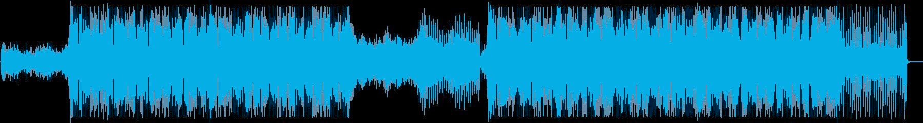 軽快でクールなEDM1の再生済みの波形