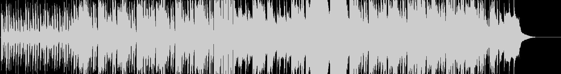 とぼけた雰囲気のエレクトロニカの未再生の波形