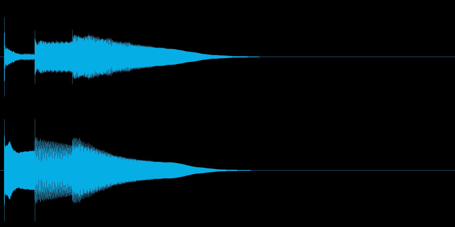 グロッケン系 決定音07(中)の再生済みの波形