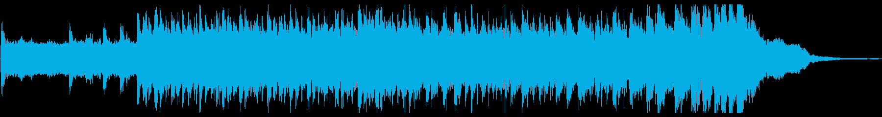 変拍子と転調が特徴のシンセメロジングルの再生済みの波形