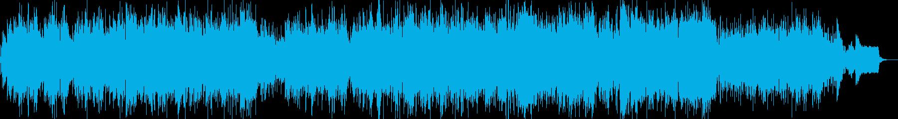 ミディアムテンポの切ない系ポップバラードの再生済みの波形