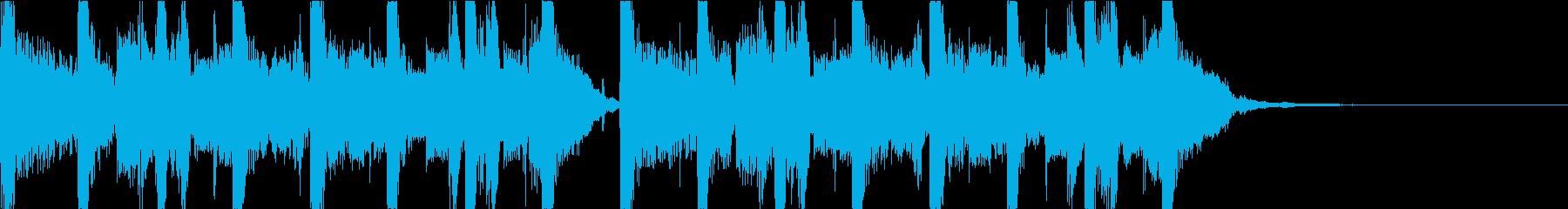 都会的でおしゃれなEDM3の再生済みの波形