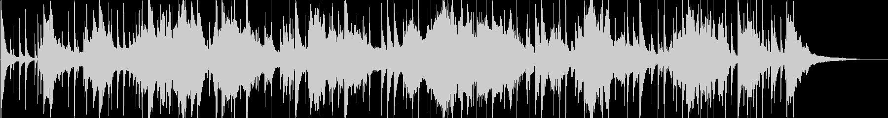アラビア風の雰囲気のBGM1の未再生の波形