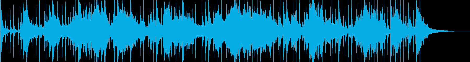 アラビア風の雰囲気のBGM1の再生済みの波形