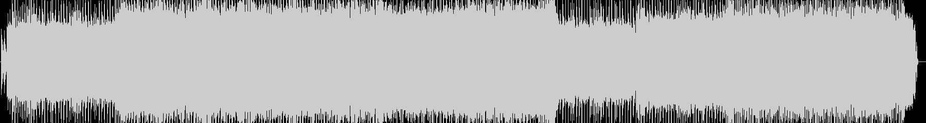 クラシックメタル風エレキギターインストの未再生の波形