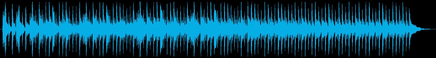 コメディコミック音楽の再生済みの波形