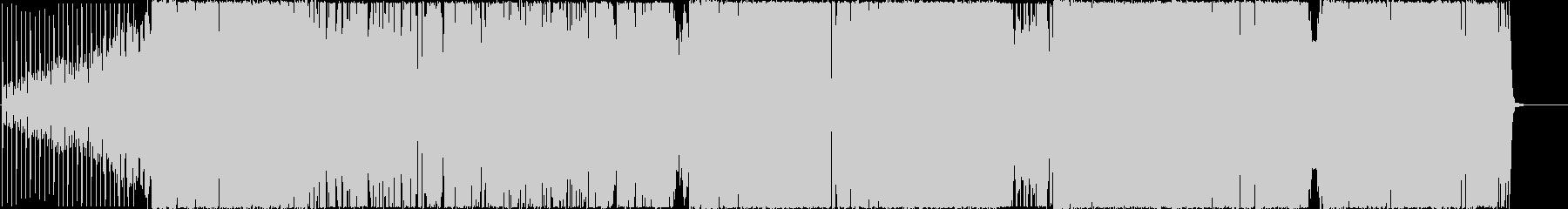 デジタルラウドロックでおふざけの未再生の波形