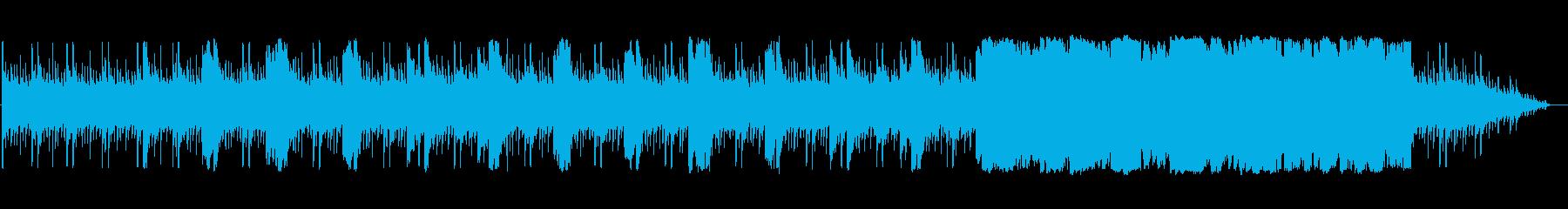 アラビアンで怪しげで解放感のある3拍子曲の再生済みの波形