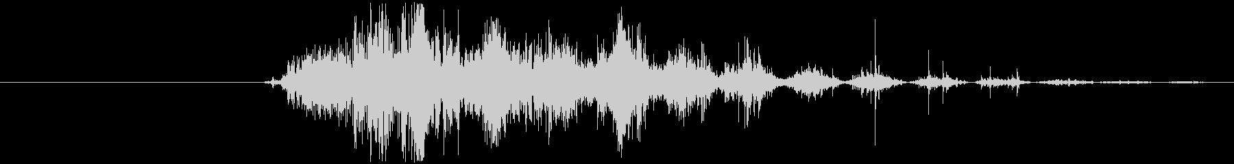 効果音 ヒューイン 電子音の未再生の波形