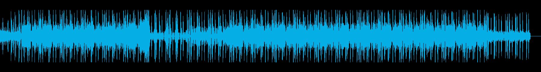 ギターベース生演奏おしゃれなHIPHOPの再生済みの波形