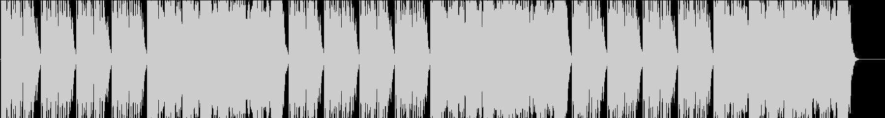 ほんわかした木琴のインストの未再生の波形