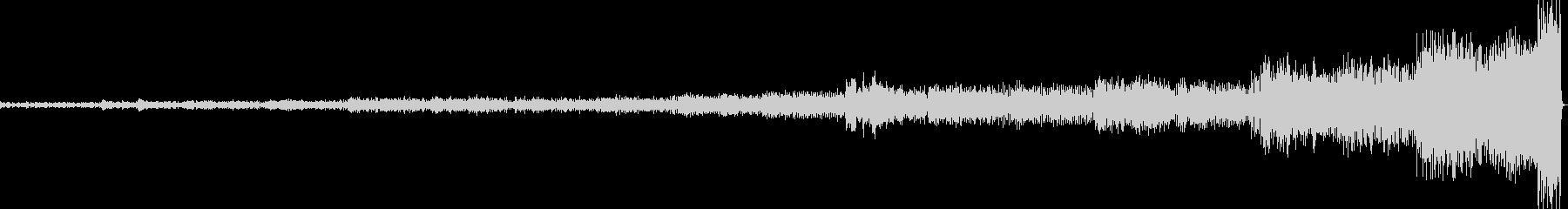ラベル作曲 ボレロの未再生の波形