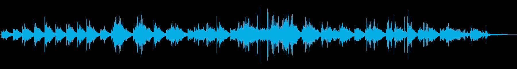 CM BGMに 静寂 癒しのピアノソロの再生済みの波形