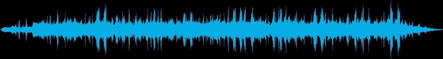 PADS グリッチートランス01の再生済みの波形